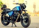 Benzene Custom Old Royal Enfield Thunderbird
