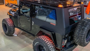 Big Foot Modified Jeep