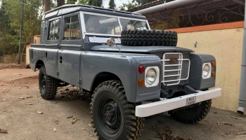 Custom Land Rover Series 2A