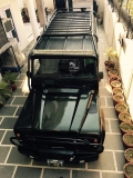Jet Black Land Rover Defender 110