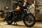 Modify Brown Royal Enfield Classic 350