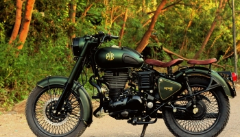 Troy Army Green Custom Bullet